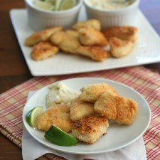 Coconut Crusted Mahi Mahi Nuggets 1 225x225  Coconut-Crusted Mahi Mahi Nuggets